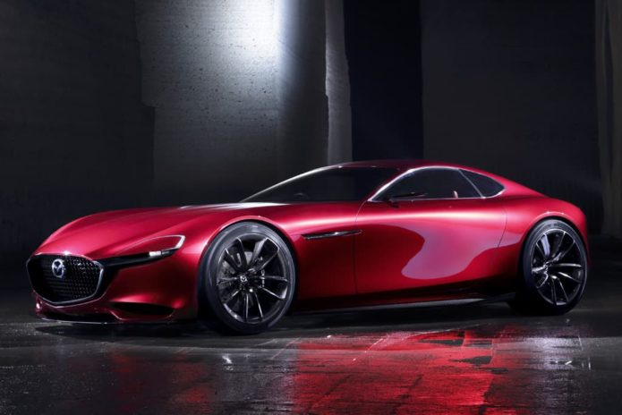 2022 Mazda RX-7 rendered