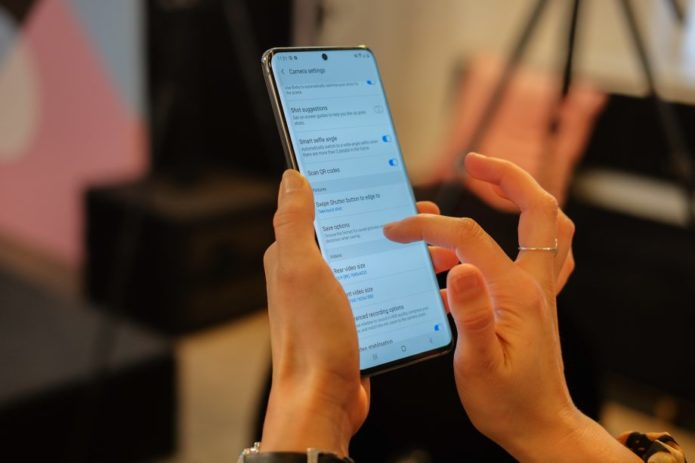 Old Samsung phones may get a key Galaxy S20 feature