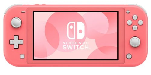 Nintendo Switch Lite gets a new colour and we're tickled pink