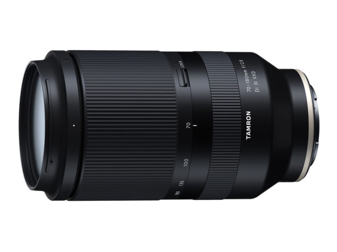 Tamron 70-180mm f/2.8 Di III VXD Lens to be Announced at CP+ 2020