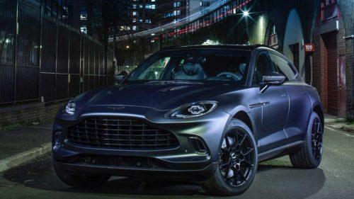 Aston Martin Shows Off Q Version of DBX