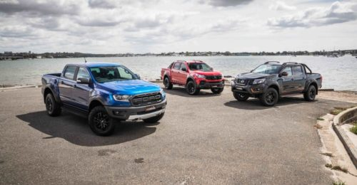 2020 Ford Ranger Raptor v HSV Colorado SportsCat v Nissan Navara N-Trek Warrior : Road test comparison