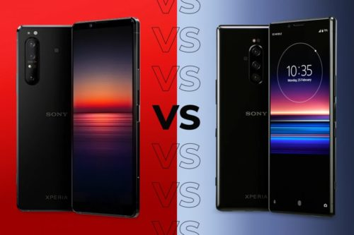 Sony Xperia 1 II vs Xperia 1: The biggest differences
