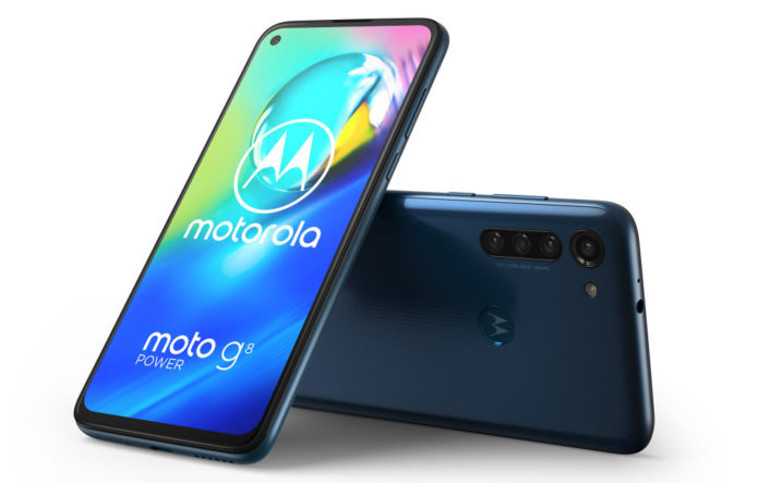 Moto G8 Power Smartphone With 16MP Quad Camera & Priced At Under £220