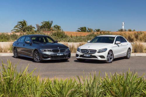 2020 320i v Mercedes-Benz C 200 Comparison