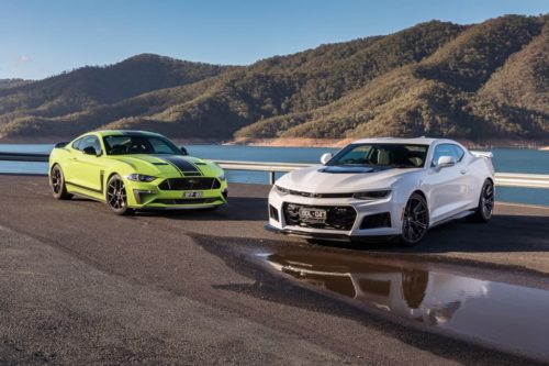 2020 Chevrolet Camaro ZL1 v Ford Mustang R-Spec Comparison : North East Victoria