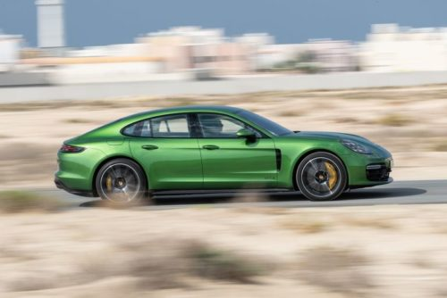 Tested: Porsche's Panamera GTS Is All About the V-8