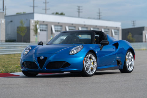 2020 Alfa Romeo 4C Spider Review