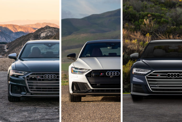 The Audi S6, S7 and S8 Are Stylish, Subtle Speed Machines