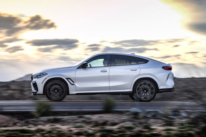 2020 BMW X6 M: Check Your Six