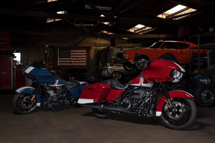 HARLEY UNVEILS PATRIOTIC PAINT FOR ROAD GLIDE SPECIAL (750 AVAILABLE)