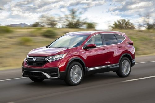2020 Honda CR-V Hybrid Points to CR-V's Future