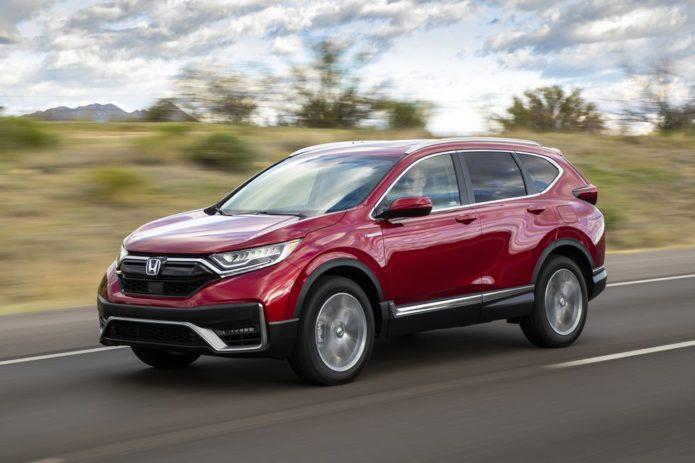 2020 Honda CR-V Hybrid Points to CR-V's Future