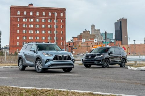 2020 Honda Pilot vs. 2020 Toyota Highlander: Three Rows and $50,000