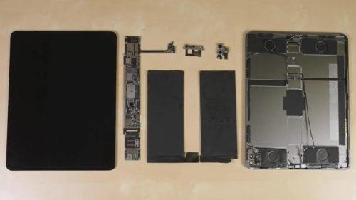 2020 iPad Pro teardown and durability test look very familiar