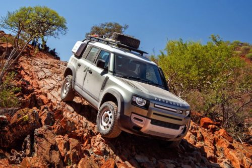 First Drive: 2020 Land Rover Defender Is Ruggedness Evolved