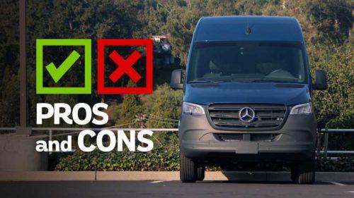 2020 Mercedes-Benz Sprinter 2500 Passenger Van: Pros And Cons