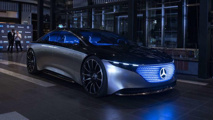 Tested: Mercedes EQS concept car - Australian first drive