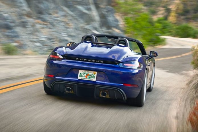 Tested: 2020 Porsche 718 Spyder is Music to Our Ears