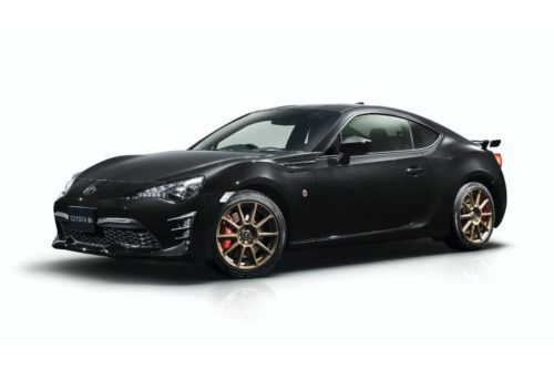 Toyota 86 Black Limited launched