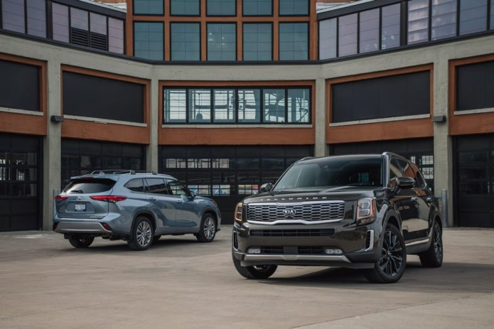 2020 Kia Telluride vs. 2020 Toyota Highlander: A Battle for Three-Row Supremacy