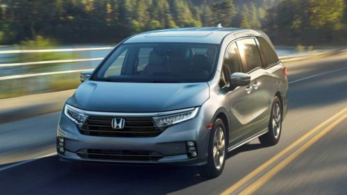 2021 Honda Odyssey Refresh In Japan Has New Face, Gesture-Control Door