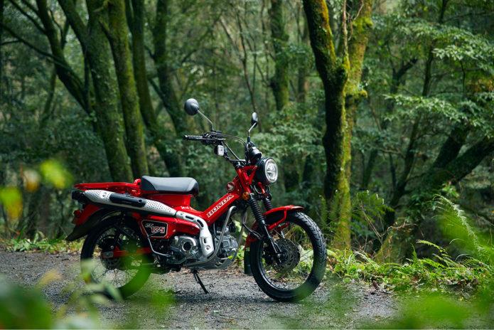 2021 Honda CT125 Hunter Cub Officially Announced