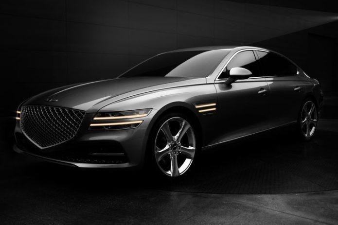 2021 Genesis G80 Is Long, Lean, and Elegant