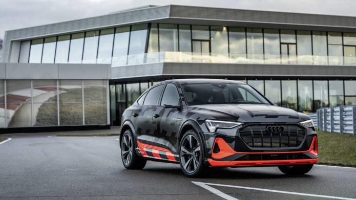 Audi e-tron Sportback S models offer more pure electric performance