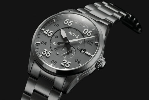 This Affordable Automatic Pilot's Watch Pays Homage to a Famous WWII Fighter Plane