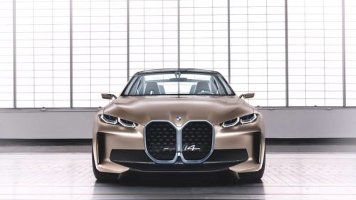 BMW Concept i4 is the brand's latest electric Gran Coupe
