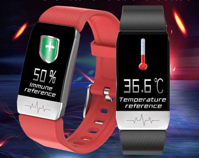 Bakeey T1 Review – Thermometer Temperature & ECG Monitor Smartwatch