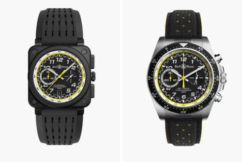 BELL & ROSS R.S.20 : These New Technical Chronograph Watches Are for Serious Motorsports Fans
