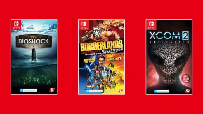 Nintendo teams up with 2K to bring BioShock, Borderlands and XCOM 2 to Switch