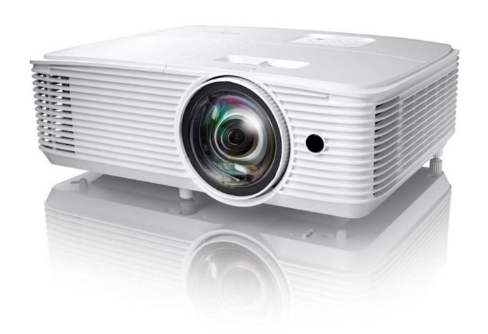 Optoma's popular gaming projector has been given a portable makeover