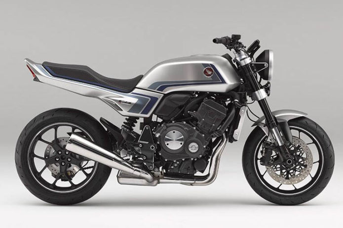 HONDA CB-F CONCEPT FIRST LOOK: INSPIRED BY THE CB900F