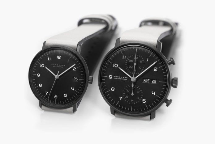 These Minimalist German Watches Mix Bauhaus Design with Tactical Aesthetics