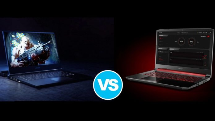 [In-depth Comparison] Lenovo Legion Y540 vs Acer Nitro 5 2019 (AN515-54) – Y540 offers much better comfort during load and wins the match