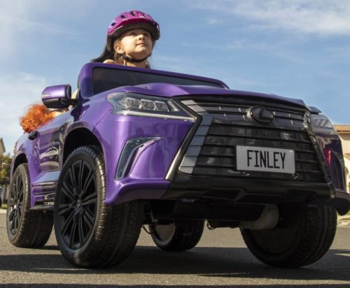 Lexus teams with CPF to create accessible ride-on for kids