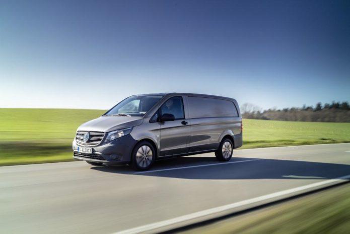 Mercedes-Benz Vito and eVito Van debut for the European market