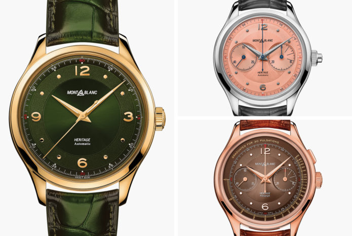Montblanc's New Watches Echo Classic Timepieces from the 1940s and '50s