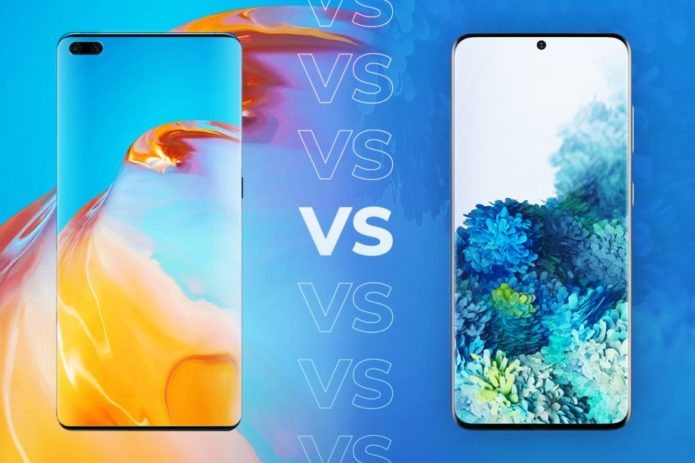 Huawei P40 vs Samsung Galaxy S20: Comparing the Android flagships