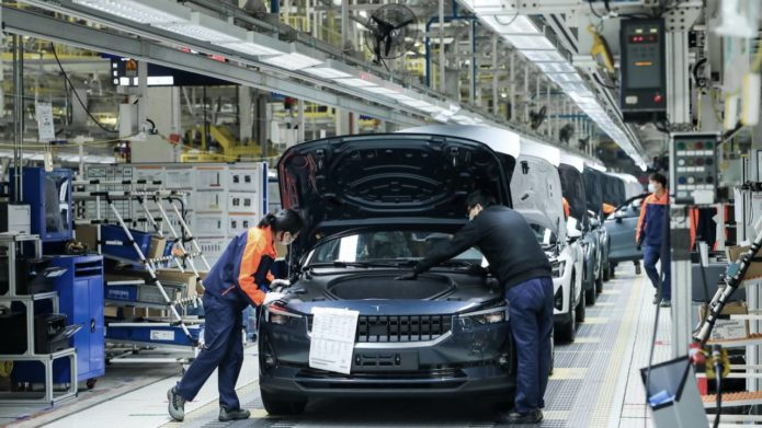 Polestar 2 EV production begins to buck the current industry trend