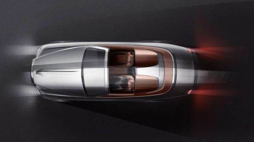 Rolls-Royce Dawn Silver Bullet Roadster is inspired by the '20s