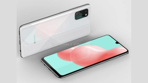 Galaxy A41 brings back the Infinity-U waterdrop notch