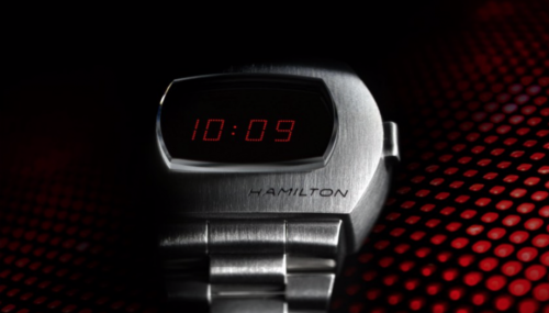 The first ever digital watch is making a comeback on its 50th birthday