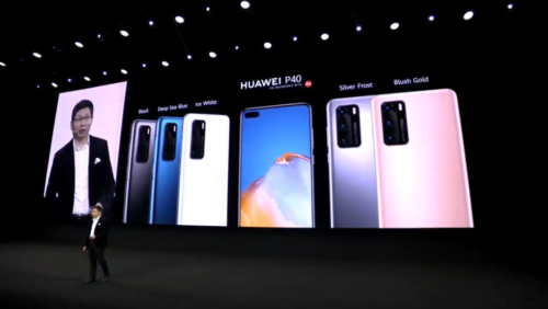 Does the Huawei P40 have Google?