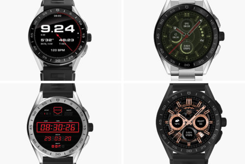 TAG Heuer Has Updated its Smartwatch with Four New Styles