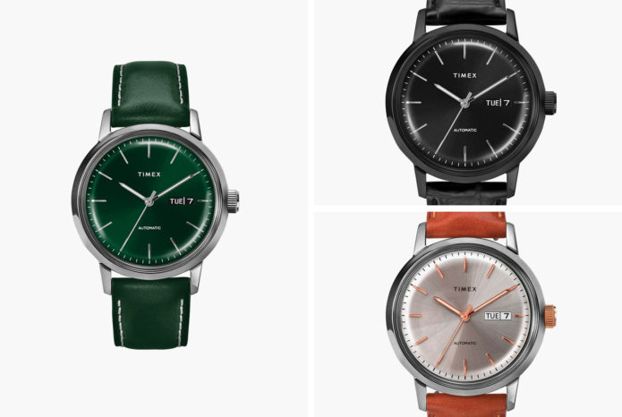 Everyone's Favorite Affordable Automatic Watch Is Available in Three New Colors