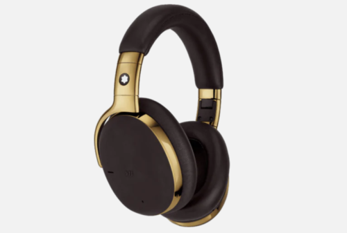 Montblanc MB01 are a pricey pair of noise-cancelling wireless headphones